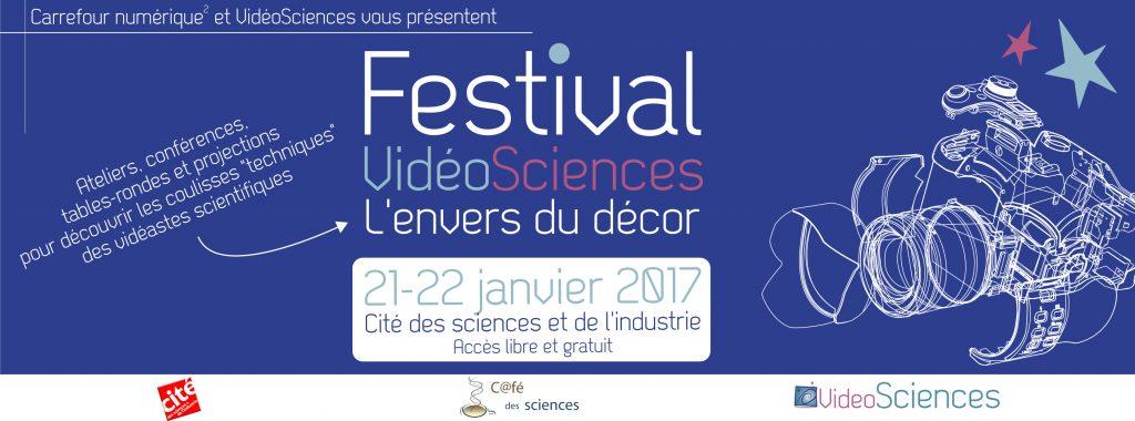 Festival Vidéosciences, 21-22/01/2017